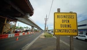 Waipahu Businesses Have Hopes For Rail — If They Can Survive Construction