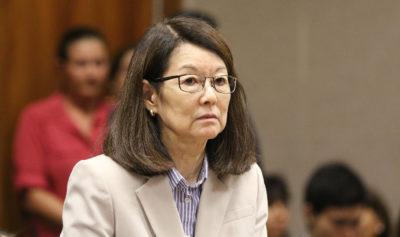 Deputy Prosecutor Janice Futa in Judge Castagnetti's courtroom for Christian Gutierrez sentencing.