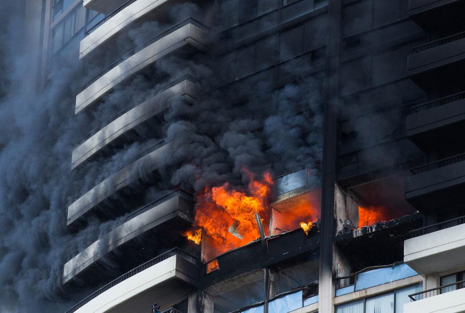 Marco Polo High Rise Fire