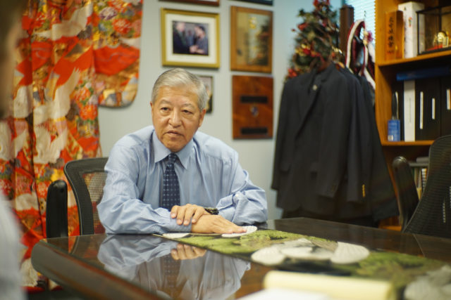 Prosecutor Keith Kaneshiro office interview.