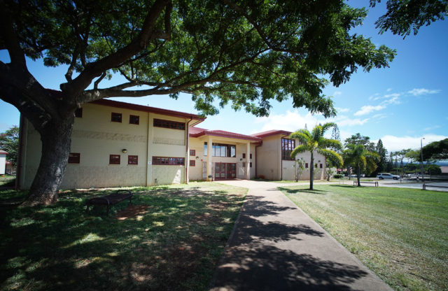 Mililani High School Building H.