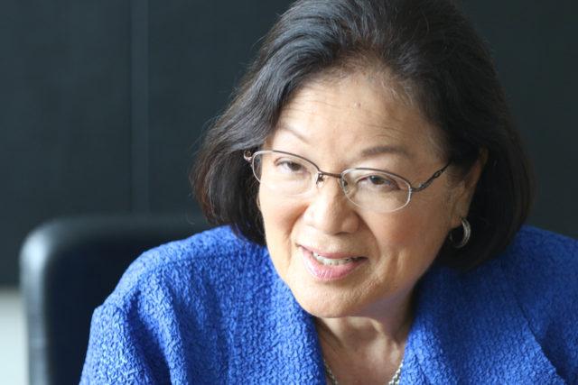 Senator Mazie Hirono in our editorial board.