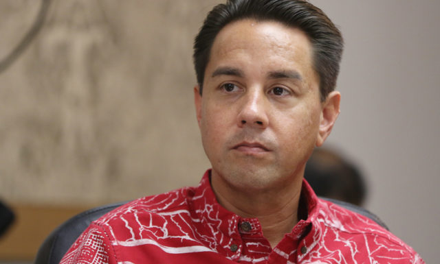 Honolulu City Council member Joey Manahan, Chair Transporation Committee and VIce chair of the finance commitee.