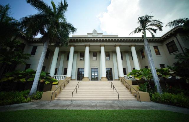 UH Manoa Hawaii Hall