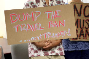 Administration Appeals Hawaii Judge's Order Blocking Newest Travel Ban