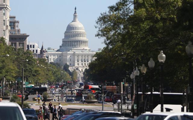 US Capitol Building Washington DC 2017.