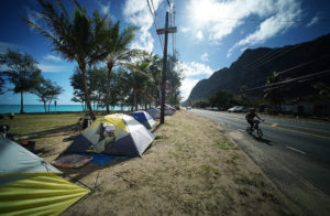 Waimanalo Tent-Dwellers: A Different Kind Of Homelessness