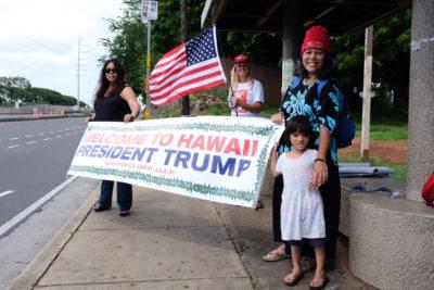 Chad Blair: Hawaii GOP Leaders Stand By Their Man Trump
