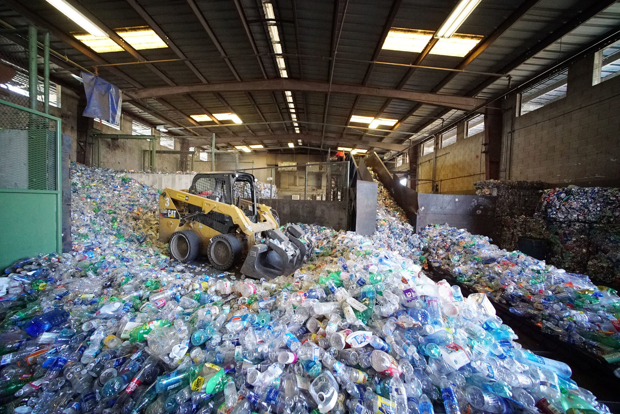 RRR Recycling Services Hawaii pet bottles.