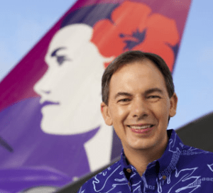 Hawaiian Airlines CEO To Retire In March, Replacement Named