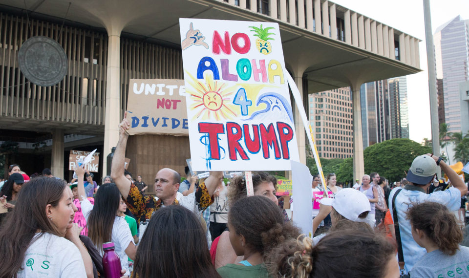 Hawaii And Other States Sue Trump Over Border Wall