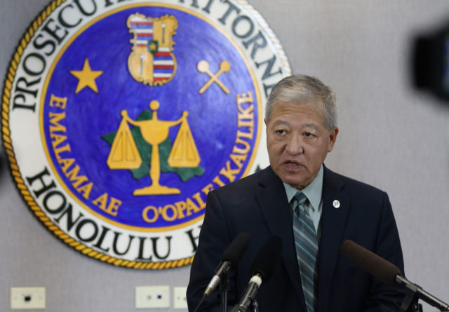 Prosecutor Keith Kaneshiro announces a 3rd possible trial for Christopher Deedy.