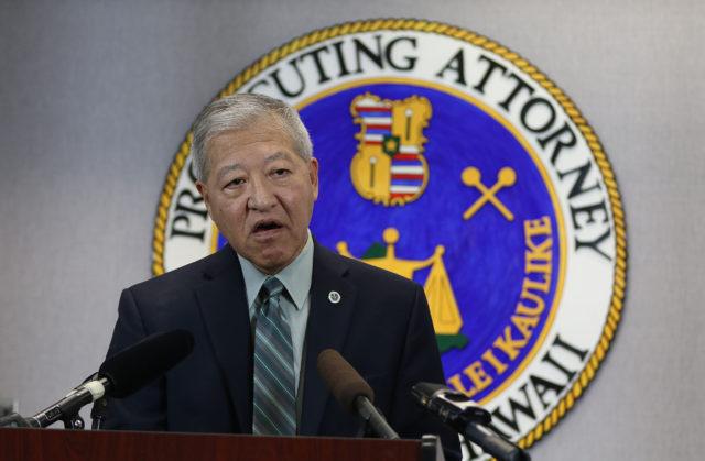 Prosecutor Keith Kaneshiro responds to Deedy trial during presser.