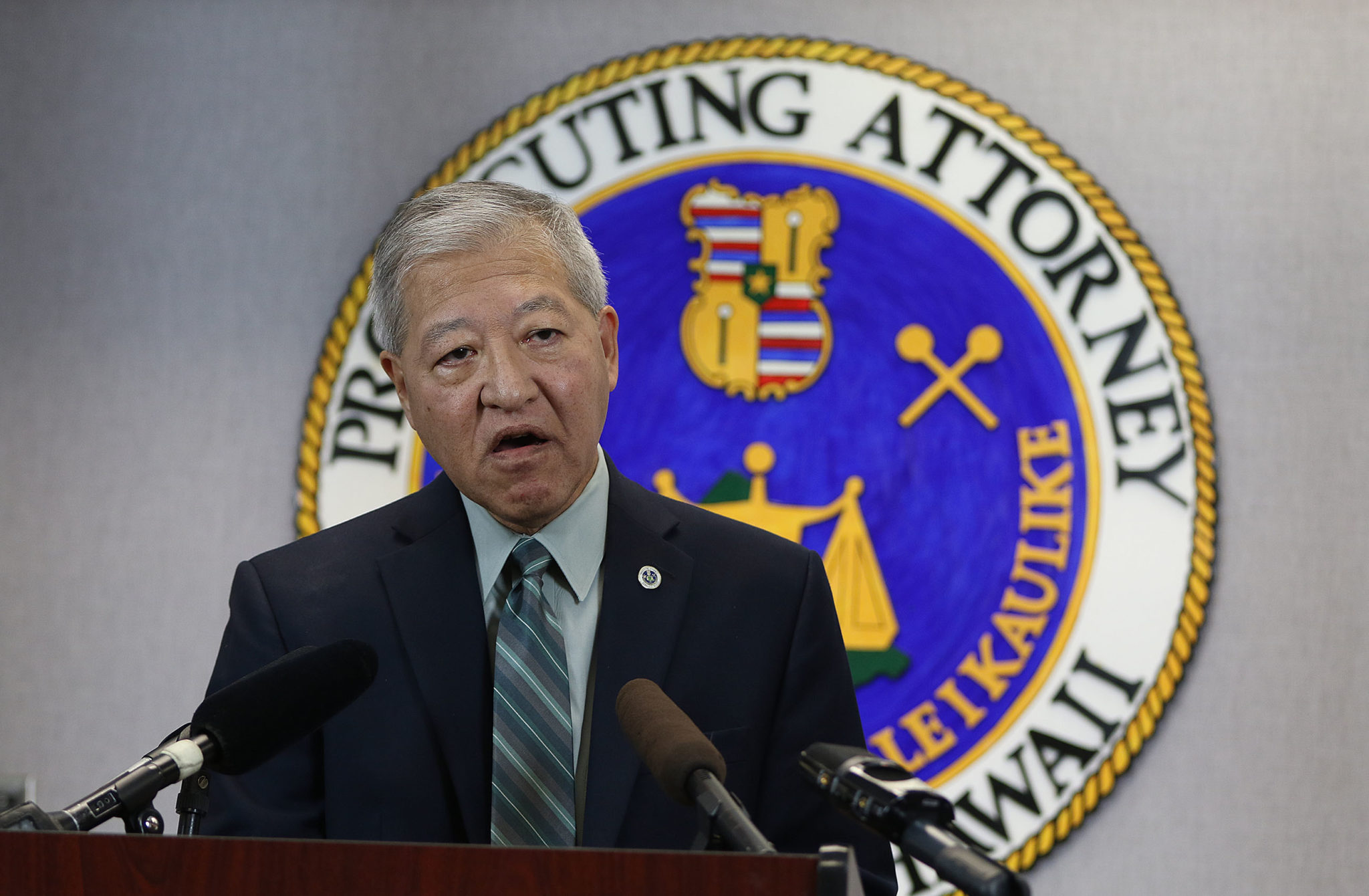 Prosecutor Keith Kaneshiro responds to Deedy trial during presser.