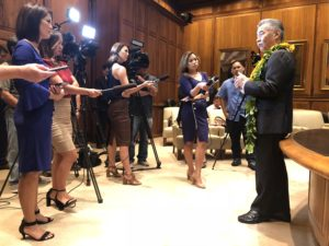Chad Blair: Media Isn't Ready To Let Ige Put Missile Alert Behind Him