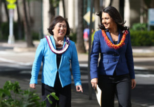 Gabbard Shakes Up Governor's Race By Endorsing Hanabusa