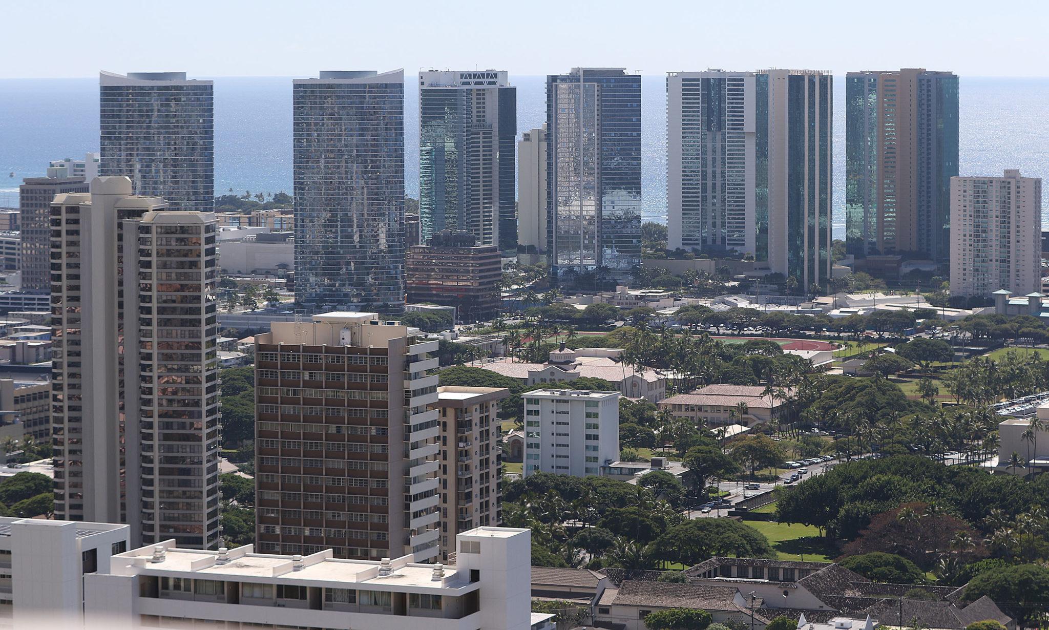 Honolulu Condominium height restriction Kakaako.