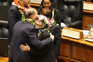 Denby Fawcett: When Does Hawaii's Famous 'Aloha Kiss' Become Sexual Harassment?
