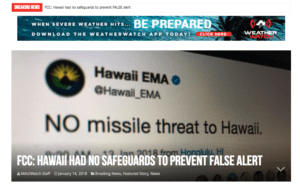 Senate Votes To Give Missile Alert Authority To Feds