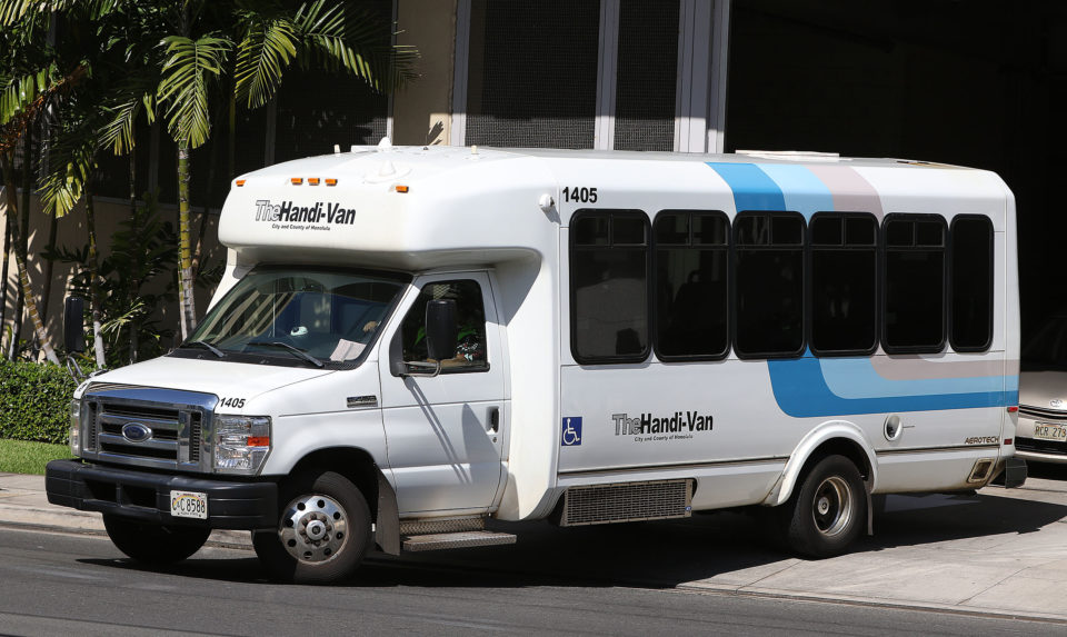 Support The Disabled: Make Honolulu's Handi-Van Truly Handy
