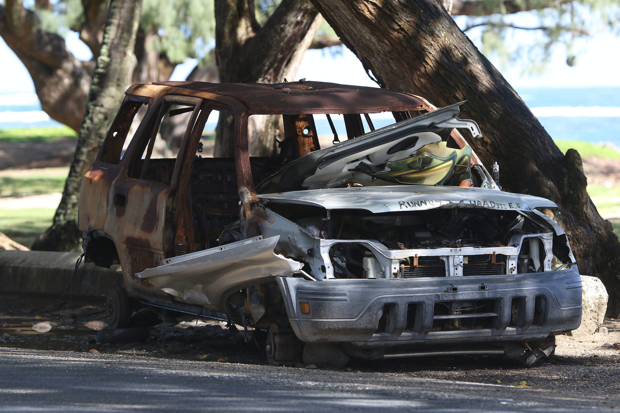 <p>Towing and recycling fees can cost salvage yards that take old cars like this more than they make from selling used parts and scrap metal.</p>