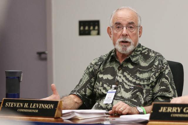 Honolulu Police Commission Vice Chair Steven Levinson.