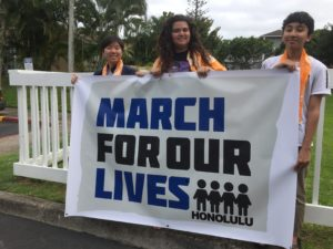 Hawaii Students Organize Several 'March For Our Lives' Rallies