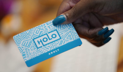 Holo smartcard.