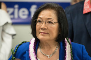 Denby Fawcett: Men Can Swear Out Loud, Why Can't Mazie Hirono?