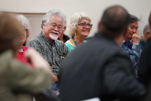 Sen Donovan Delacruz acknowledges Rev Bob Nakata calling the new over $500 million housing bill the 'Bob Nakata Bill' and he can retire now.