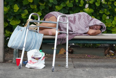 Hawaii Homeless Numbers Drop By 10 Percent