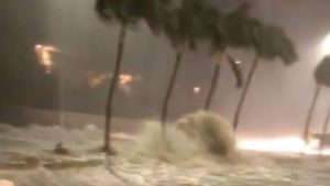 Video: A Motorist Captures Dramatic View Of Flash Flooding In East Oahu
