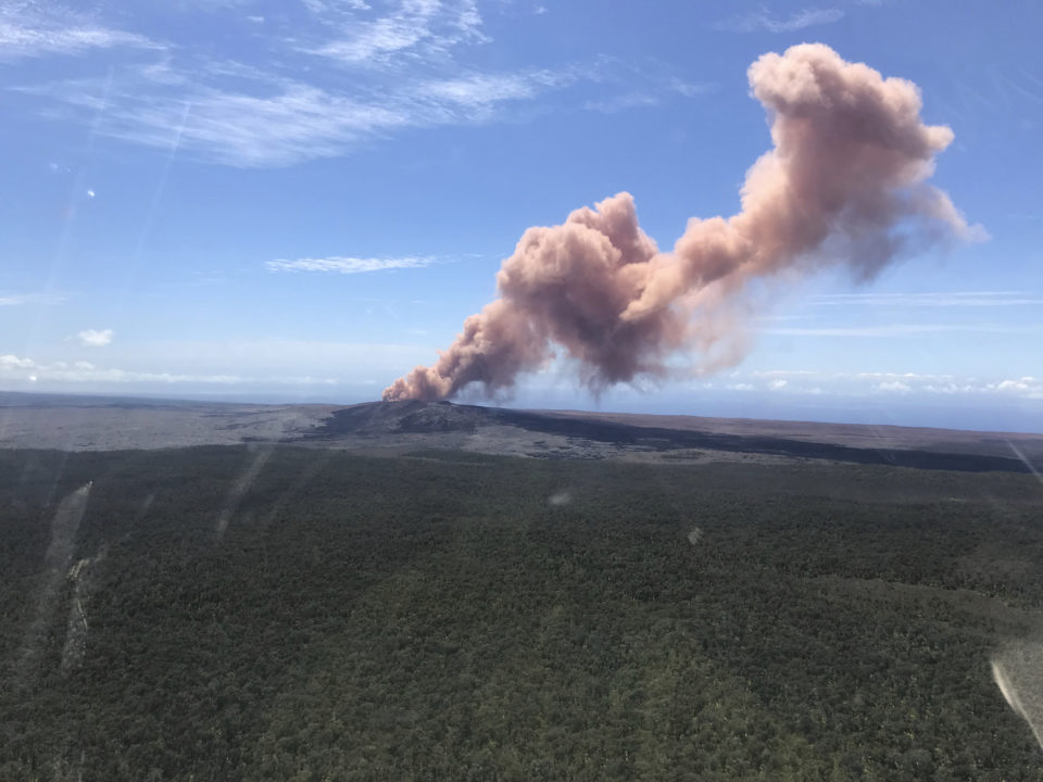 Hawaii Volcano Eruptions