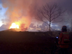 Suspect Arrested After Shooting In Volcano Evacuation Zone