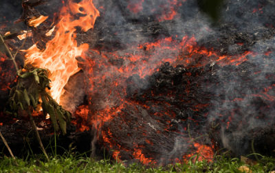 VIDEO: Close Up Footage Of Lava Fissure 16 In Lower Puna