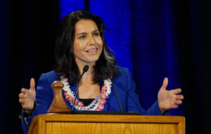 Gabbard's Claims Of 'Religious Bigotry' Draw Cheers From The Right
