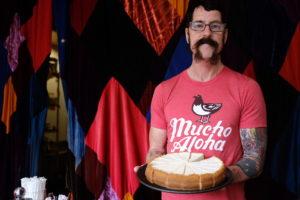 Meet The Punk Rock Roller Skating Cheesecake Maker From Kaimuki