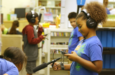 On Campus: Here's What Happens When Kids Do The Podcast