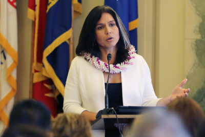 Poll: Gabbard's Constituents Want Her To End Presidential Campaign