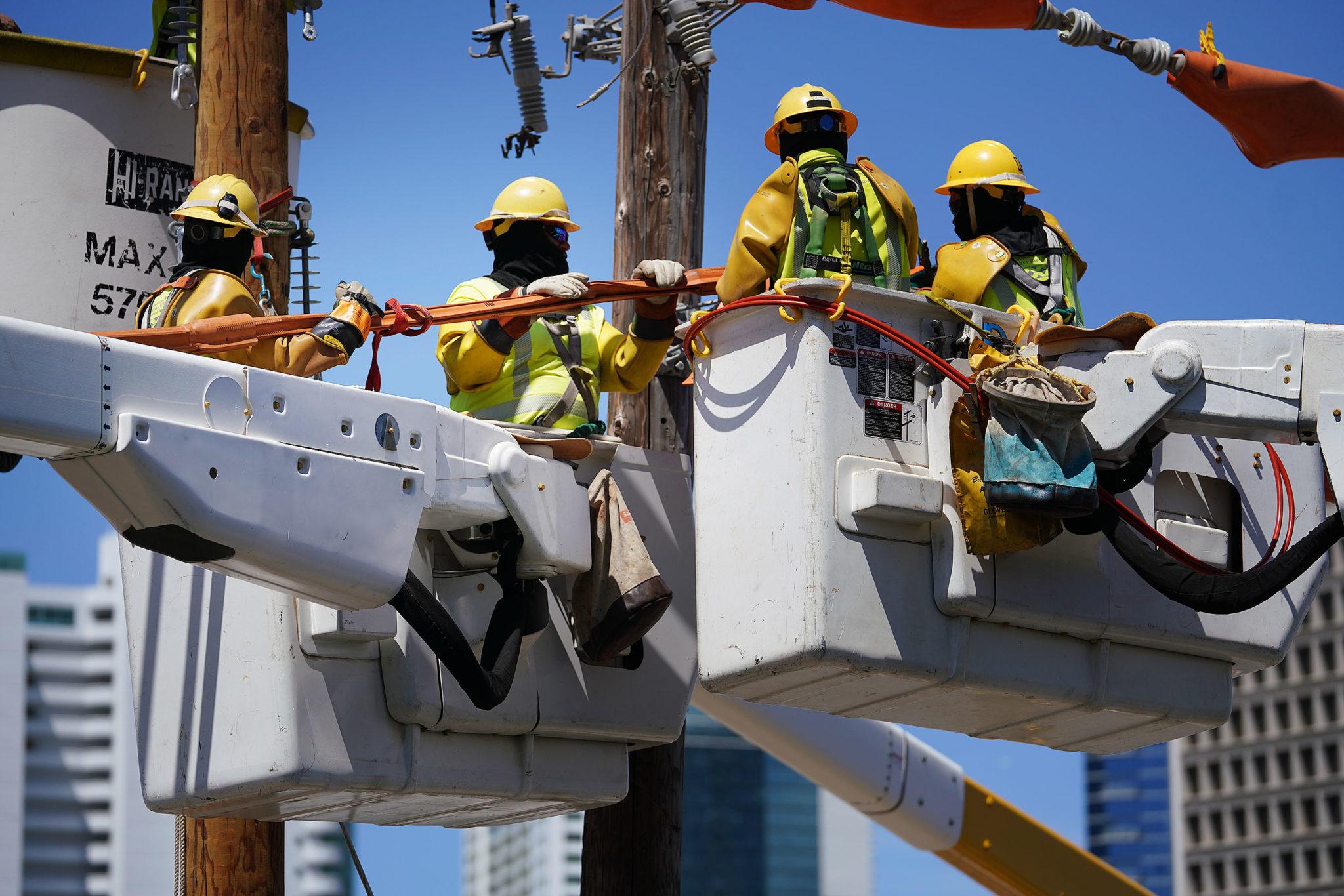 Preparedness HEI HECO Hawaiian Electric closed road ...