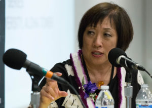 Hanabusa Softens Criticism Of Ige But Stays On Message