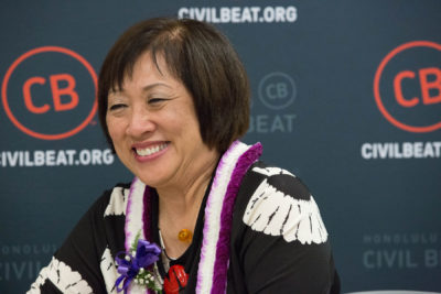 Know Your Candidates: A Fireside Chat With Colleen Hanabusa