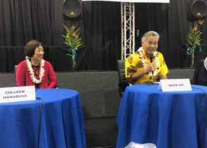 Candidates For Governor Hone Their Messages At Hilo Forum
