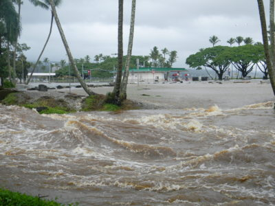 Big Island: A Windward Drenching, But No Wind Damage Yet