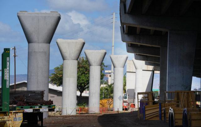 HART Guideway near Valkenburg Street near Hickam/Airport Viaduct (off ofElliot Street)