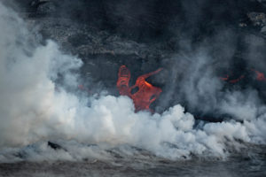 Lava That Destroys On Land Spurs New Life At Sea