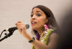 Ocasio-Cortez Brings Her Star Power To Hawaii To Boost Kaniela Ing