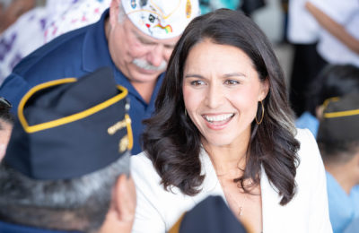 How Tulsi Gabbard Got Back On The National Debate Stage