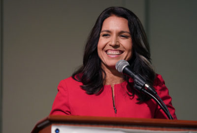 Congresswoman Tulsi Gabbard Democrats Unity Breakfast held at the Dole Cannery Ballroom.