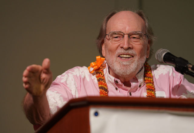 Governor Neil Abercrombie Democrats Unity Breakfast 2018 held the Dole Cannery Ballroom. 12 aug 2018